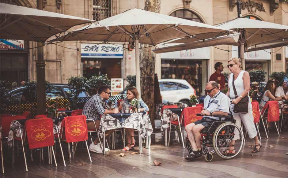 Terrasses de La Rambla de Bcn  / Font: Lydia Cazorla